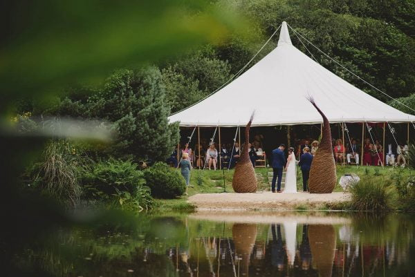 Amazing wedding marquee from Absolute Canvas