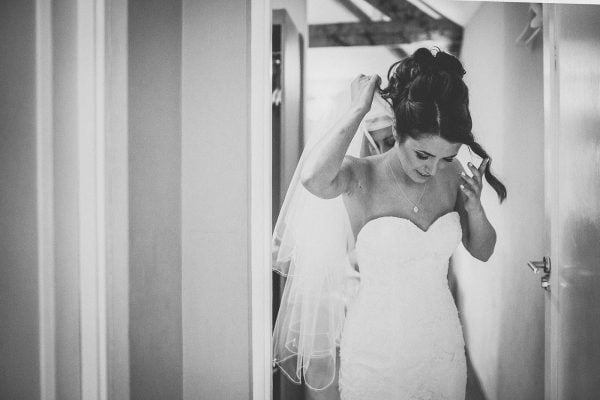 Bride getting ready for her big day. Photography by Helen Lisk Photographer
