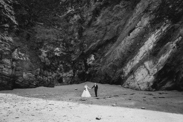 Lusty Glaze Beach Rachel and Ash
