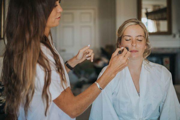Suzi Winter Wedding Makeup