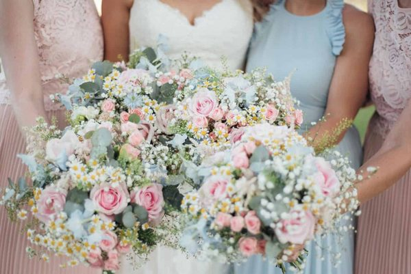 Annas Flower Barn Wedding Flowers in Cornwall