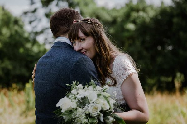 Milly and William's Relaxed Outdoor Wedding