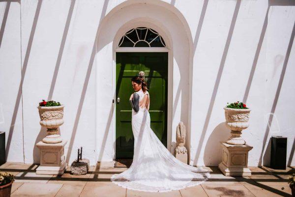 A non-traditional wedding Photo Shoot
