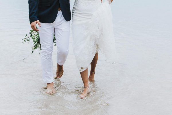 Lusty Glaze Beach Weddings Charlotte and Dan