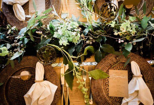 A Woodland Wedding Shoot