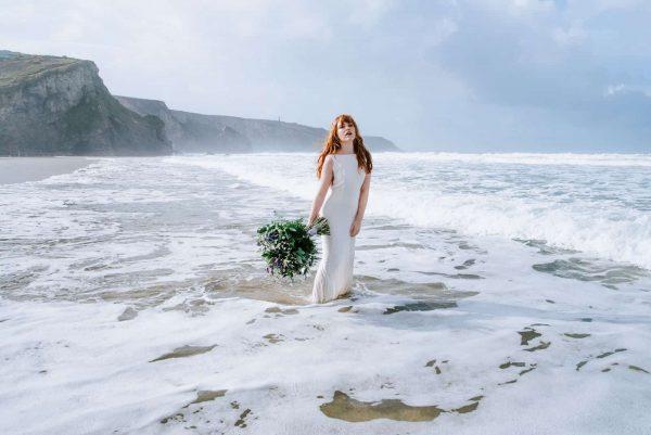 A Wild Boho Beach Shoot