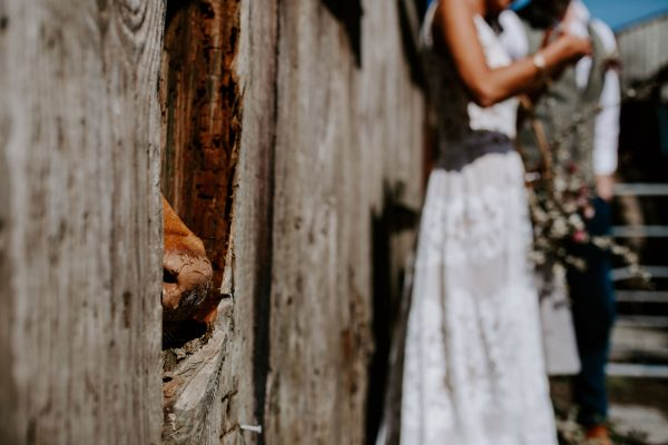 A Rustic, Chic Boho Wedding Vibe