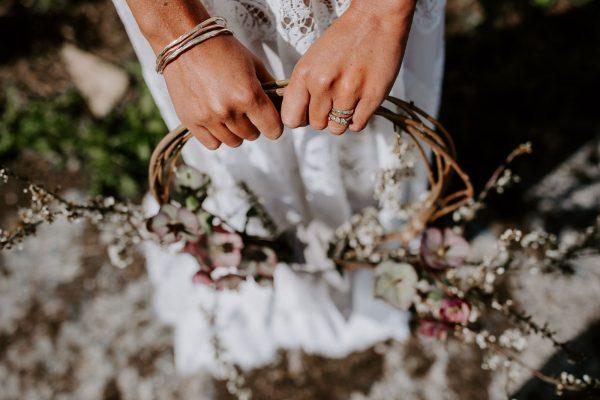 A Rustic, Chic Boho Wedding Vibe
